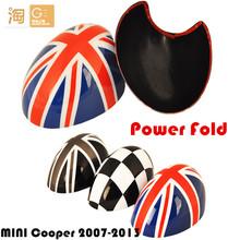 Power Fold MINI Cooper side rear view mirror Cover for R55 R56 R57 R58 R59 R60