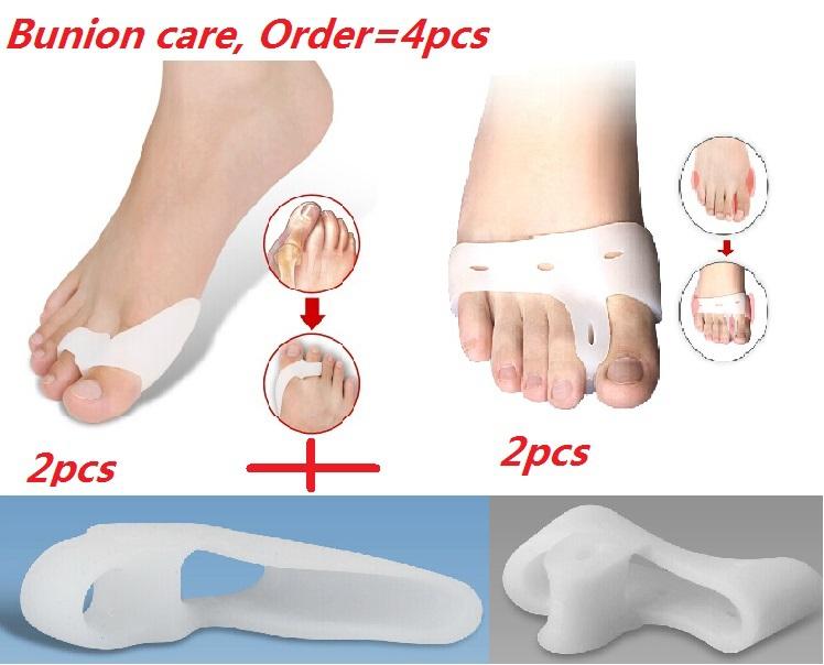 silica gel Bunion pro care divice hallux valgus big toes bone orthotic corrector protector split thumb goodnight stretchers(China (Mainland))