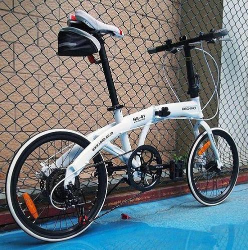 HACHIKO 20-inch aluminum alloy folding bicycle 7-speed, V brakes(China (Mainland))