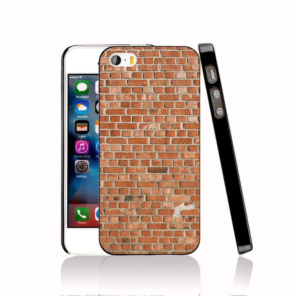 13536 brick wall protective Cover cell phone Case for iPhone 4 4S 5 5S 5C SE 6 6S Plus 6SPlus(China (Mainland))