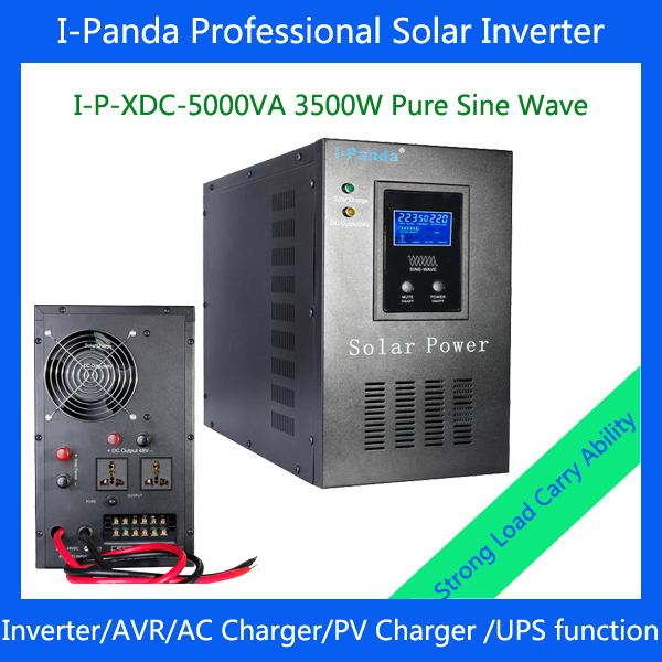 I-P-XD-5000VA 3500w Pure Sine Wave Solar Inverter with charger Industrial Level low frequency UPS 3500W dc to ac power inverter(China (Mainland))