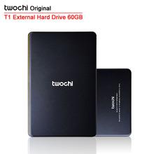Freies verschiffen 2015 Neue Stil 2,5 zoll Twochi HDD USB2.0 60 GB Dünne Externe festplatte Tragbare speicherplatte großhandel und einzelhandel(China (Mainland))