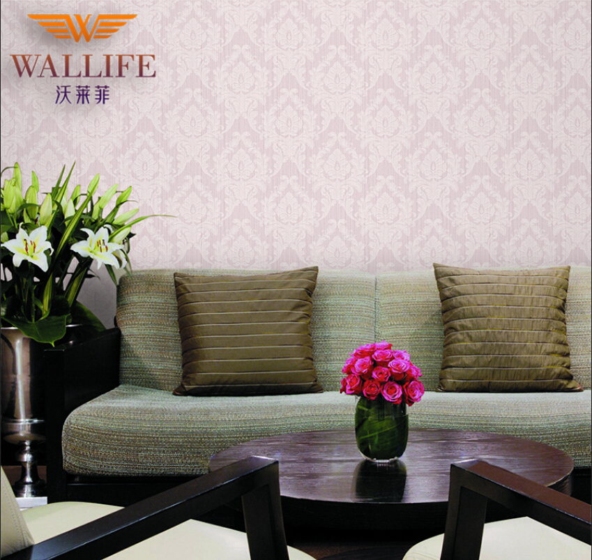 Buy striped wall paper super fibre non woven wallpaper for What size tv do i need for a 12x15 room