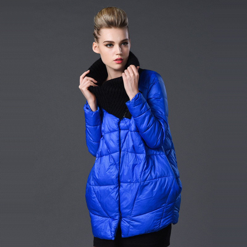 Фотография New winter jacket women plus size 5XL fashion European style long down padded coat female winter jacket women parkas TT55