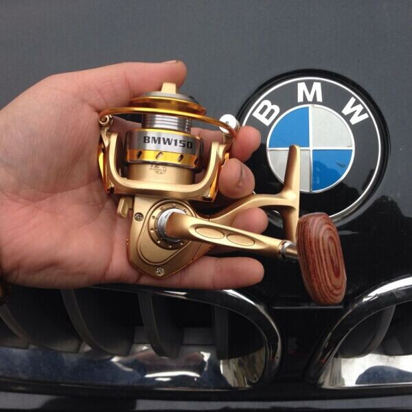 New 2015 BWM150 MINI Small fishing reels,12+1bb,5.5:1,carretilha pesca,abu garcia,fly fishing,spinning reel,Metal,free shipping(China (Mainland))