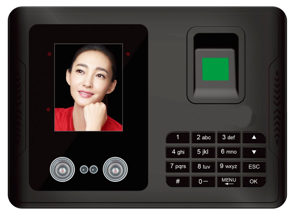 Free shipping!! biometric time attendance system face recognition time attendance language IN STOCK fingerprint reader<br><br>Aliexpress