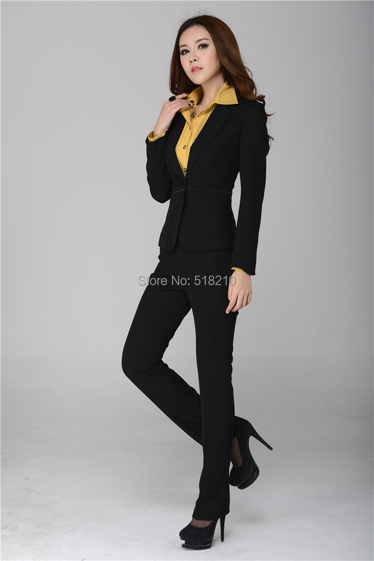 2013 new fashion women suits blazer pants for ol office
