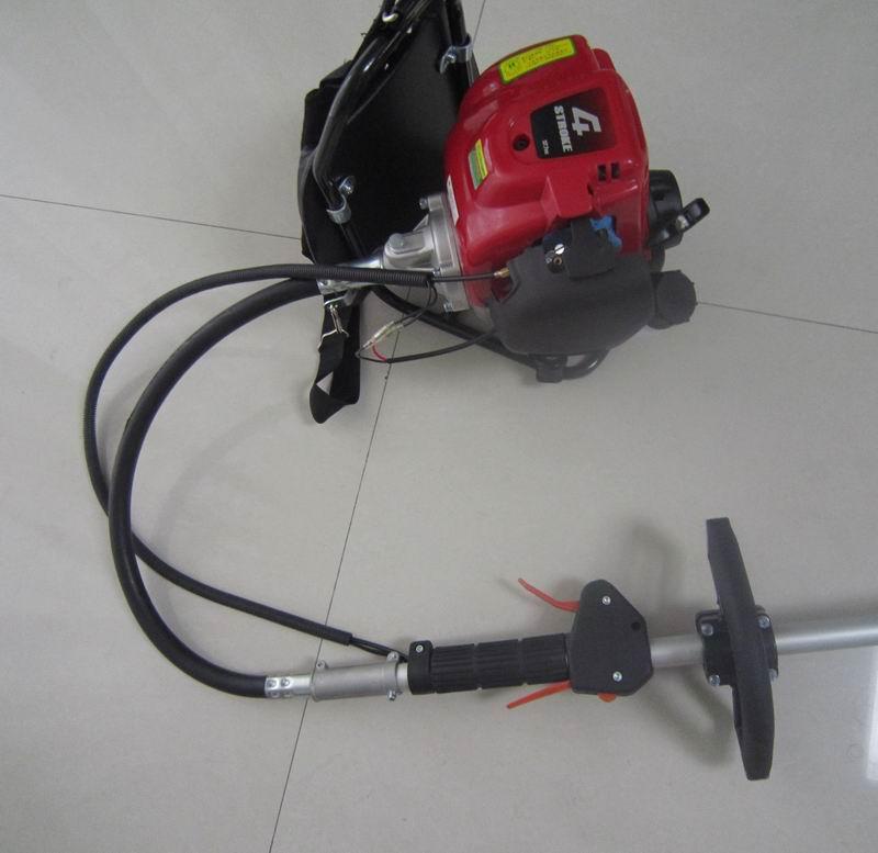 Four-stroke mower knapsack brush cutter lawn 140FA gasoline engine Lawn Mower(China (Mainland))