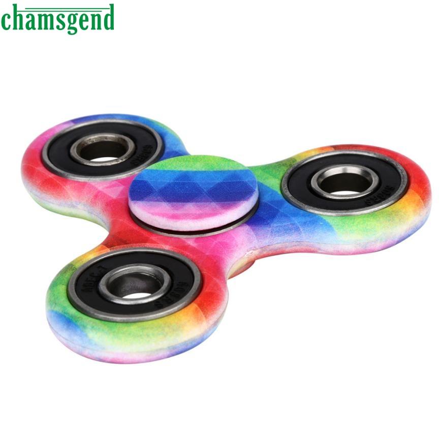 chamsgend juegos del juguete divertido edc edc antiestrs juguete fidget mano juguete ruleta reductor de estrs alivia edc pued