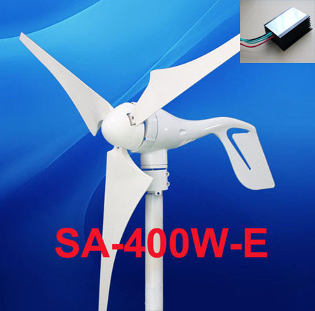 400W home use small Wind Generator Power System With a 12v DC Controller(China (Mainland))