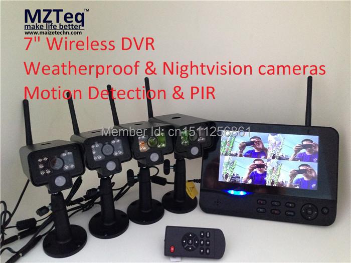 4CH Digital Wireless Camera system, Wireless Security camera, Wireless Surveillance Camera and DVR kit(China (Mainland))