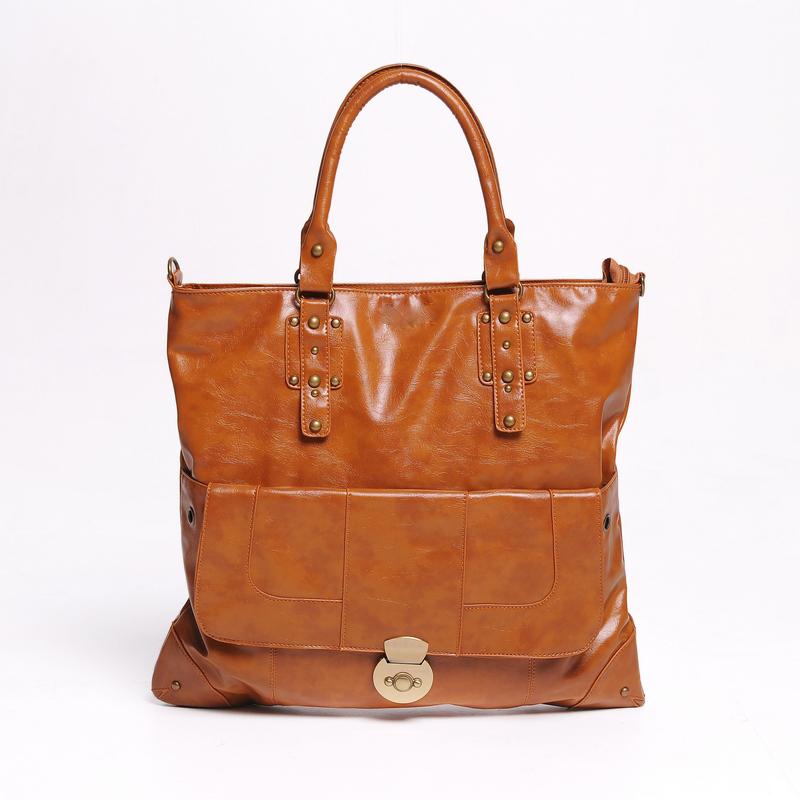 Eiropean and American Style Arrival Korean Solid Big Size Hobo Handbag Shoulder Bag Tote Handbags Hotsale Sac A Main(China (Mainland))
