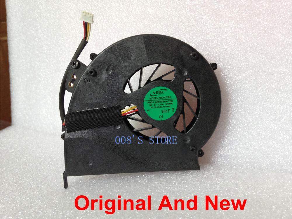 100% Original Notebook CPU Cooler Fan Fit For Acer Extensa 5235 5635 5635ZG ZR6 Radiator ADDA AB0805HX-TBB DIY Replacement(China (Mainland))
