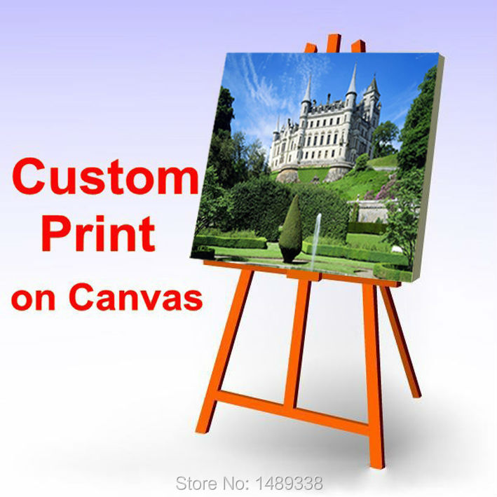 Your Picture,Family,friends or Baby Photo,Favorite Image Custom Print on Canvas Painting Room Decorate Free Shipping(China (Mainland))