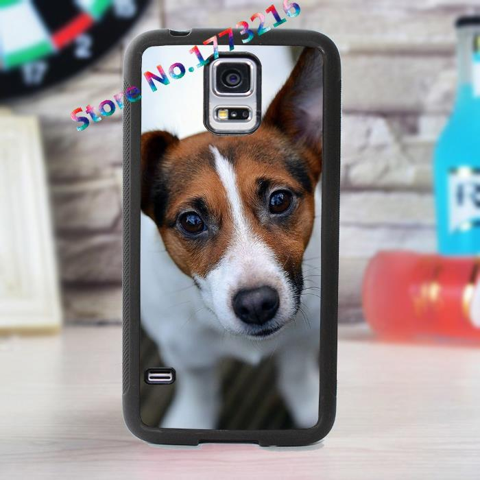 jack russell dog puppy 2 fashion cover case for samsung galaxy s3 s4 s5 s6 s7 note 2 note 3 note 4 *AI315(China (Mainland))