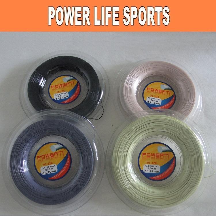 Free shipping - Wholesale professional PT-128 big banger 200m tennis racquet string(China (Mainland))