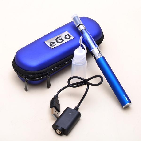 eGo CE5 Kits E Cigarette eGo-T Battery 650mah 900mah 1100mah CE5 Atomizer in a Zipper Case for Electronic Cigarette Ego(China (Mainland))