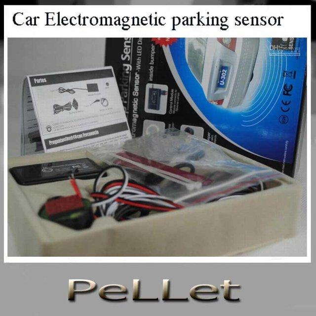 Car Electromagnetic parking sensor no dirl on bumper