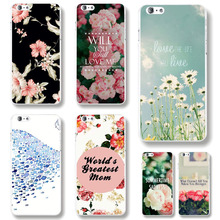 "For iPhone 6 6S ""4.7""Inch Case PC Hard TPU Soft Case Cover Elegant Rose Flower Mobile phone case High Quality Multiple Pattern"