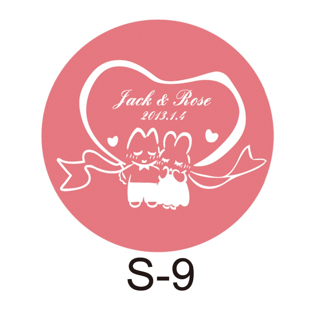 150pcs/lot personalized candy sticker favor sticker for wedding bride shower wedding party decoration small circle S09(China (Mainland))