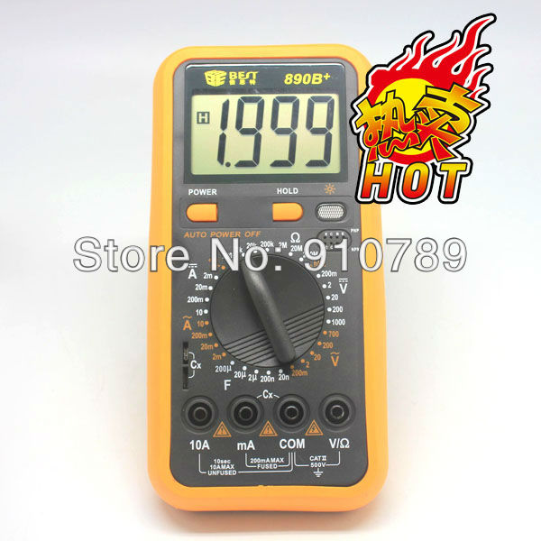 Free Shipping automatic range multimeter Electric tester digital multimeter(China (Mainland))