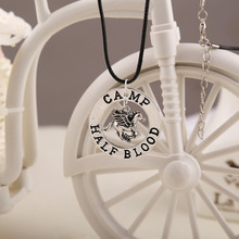 New 2015 Hot Selling Wholesale Percy Jackson Camp Half Blood Fly Horse Pendant Necklace Fan Gift