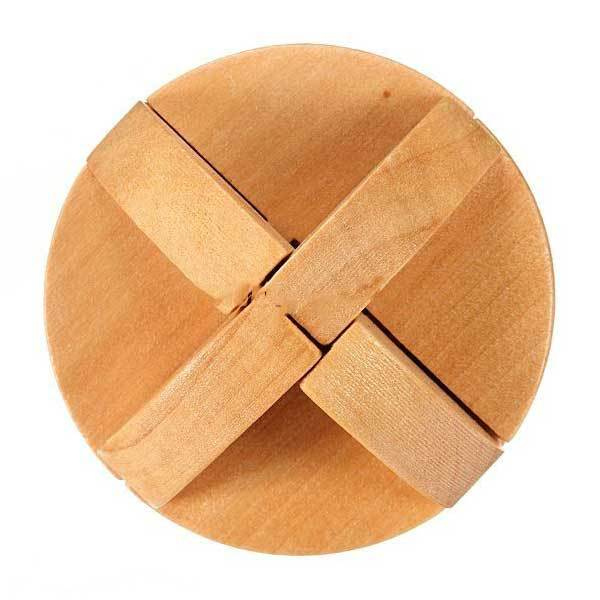 Flaxton Non-convex Kongming Magic 3D YX801 Wooden Brain Teaser Puzzle Toy(China (Mainland))