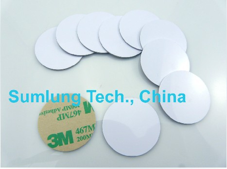 Free shipping(10pcs)125Khz Rfid Tags Stickers PVC Waterproof EM/TK 4100 Smart Card sticker