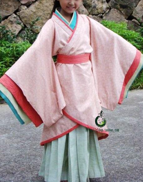 Здесь можно купить  Free Shipping** Beauty little girl child hanfu child dance costume clothes  Одежда и аксессуары