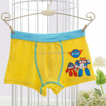 Buy 5 pieces/box boys panties modal boxer briefs boy robocar poli cartoon multicolor baby boys underwear, 2-8 years old for $12.66 in AliExpress store