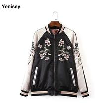 2016 Sale Abrigos Mujer Xn8107-100 Europe Station In The Spring Of New Women's Wear Embroidered Jacket On Both Sides 0313(China (Mainland))