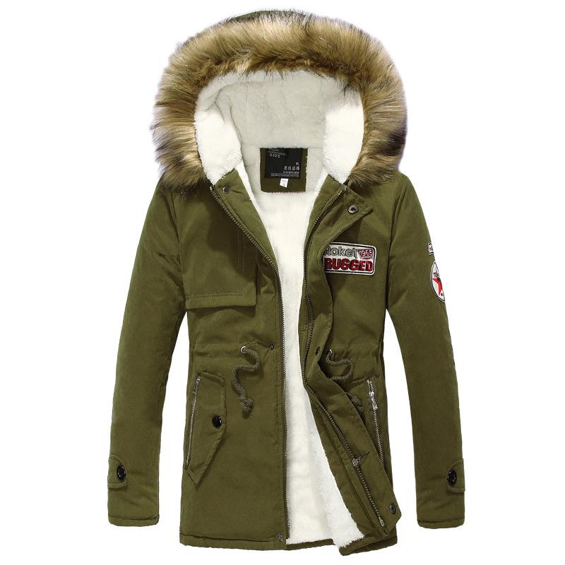 Куртка Парка Мужская Зимняя С Мехом Купить В Москве