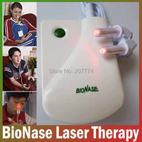 BioNase Nose Rhinitis Health care Sinusitis Therapy Massage,Hay fever,Low Frequency Pulse And Laser therapy instrument Massager