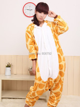 New Fashion Giraffe Adult Animal Halloween Costume S M L XL Free Shipping