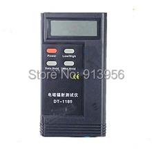 Envío gratis DT-1180 Detector de radiación electromagnética EMF Meter Tester portátil teléfono celular contra la radiación Gadgets
