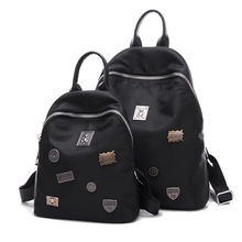 Buy KVKY Women new fashion leisure backpack Oxford cloth all-match rivet simple waterproof Backpack for $24.35 in AliExpress store