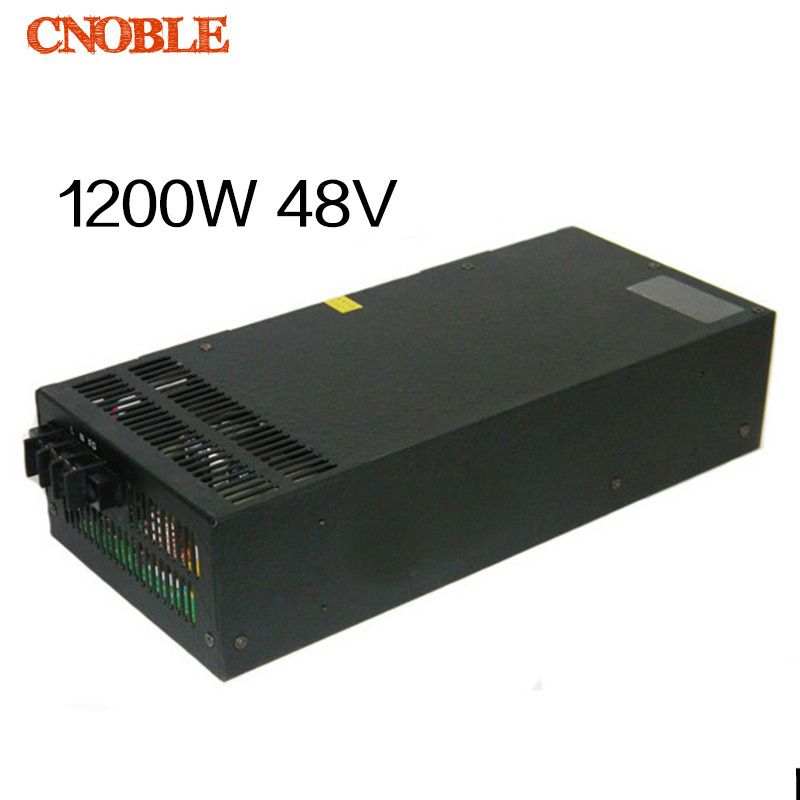 1200W 48V adjustable 220V input Single Output Switching power supply for LED Strip light AC to DC<br><br>Aliexpress