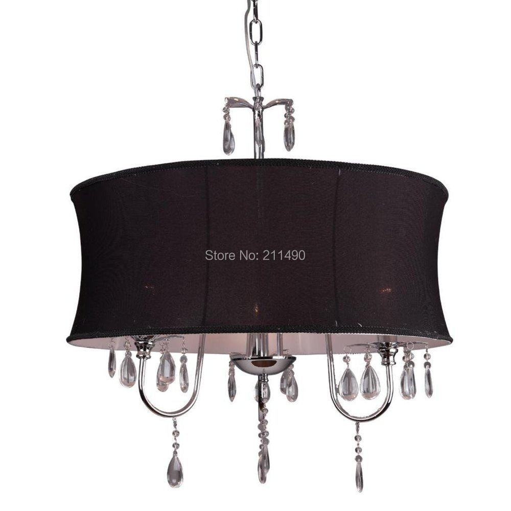 Image Result For Mini Crystal Chandelier With Drum Shade
