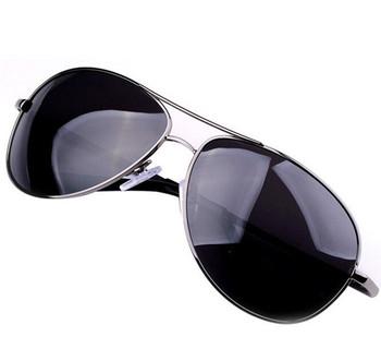 Brand Sunglasses Oculos Masculino Gunmetal Sunglasses Polarized Classic Metal Eyewear Sun Glasses for Men Freeshipping Wholesale