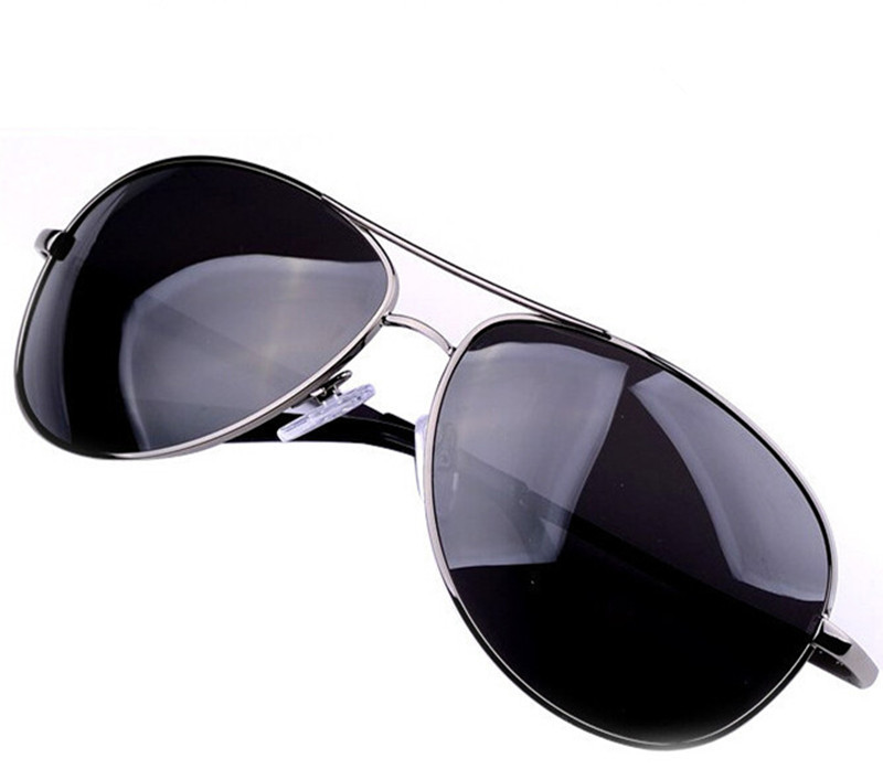 Brand Sunglasses Oculos Masculino Gunmetal Sunglasses Polarized Classic Metal Eyewear Sun Glasses for Men Freeshipping Wholesale(China (Mainland))