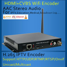 HDMI+CVBS Wifi Encoder HDMI+CVBS Encoder H.264 Wireless IPTV Encoder