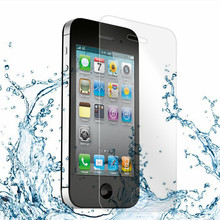 original Glass ! Tempered Glass case For iPhone 4 4S  Ultra-thin 0.33 mm Mobile Phone Accessories case cover