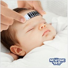 1 pcs High Quality Child Kid Forehead Test Temperature Head Strip Thermometer Fever Body Baby wd01