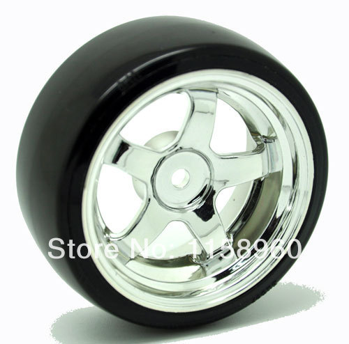 RC Drift Plastic Hard Tires Tyre Wheel Rim 4pcs 9002-5003 Fit 1:10 On-Road Model Car(China (Mainland))