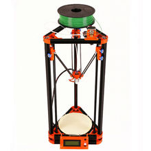 LCD Display Diy Kossel 3d Printer Kit With Free 40m Filament 8GB SD Card and Masking