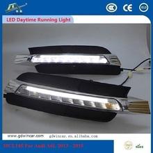 For Audi A6L 2013 - 2015 High Luminosity 12V 0.5W 6000K Waterproof LED Daytime Running Lamp DRL Energy Saving Long Range(China (Mainland))