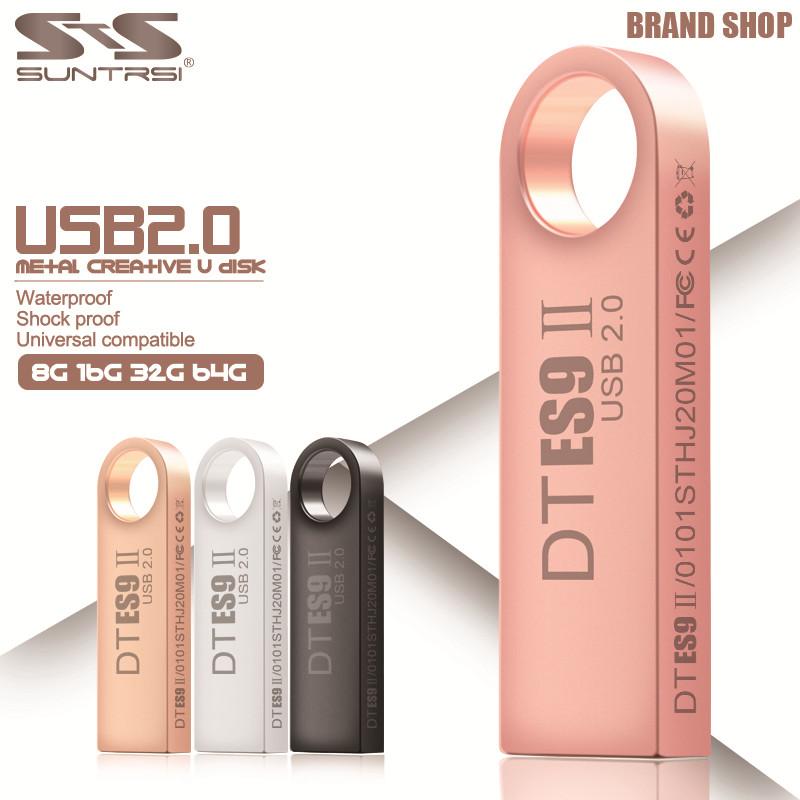 Suntrsi USB Flash Drives 32GB 64GB Pen Drive 16GB Pendrive Flash Memoria USB Stick 8GB 4GB U Disk Storage USB 2.0 Free shipping(China (Mainland))