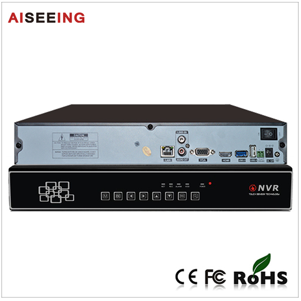 new products on china market Hot cctv system Support 5MP/3MP/1080P new 9CH Touch Onvif NVR(China (Mainland))
