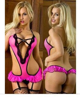 Sexy Lingerie Hot Women Transparent Lace Underwear Female Sexy Costume Chest Open Hot Girl Adult Sex Intimates Erotic lingerie(China (Mainland))
