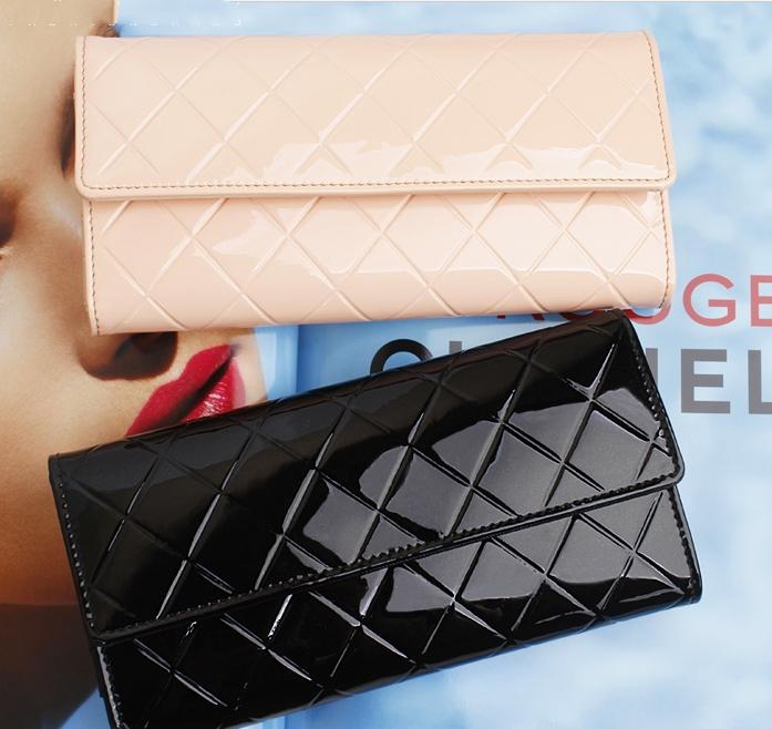 Гаджет  New Spring 2014 Women Wallets Change Purse Women Clutch Genuine Leather Wallet Woman Magic Brand Wallet Hand Purse Clutch Purses None Камера и Сумки